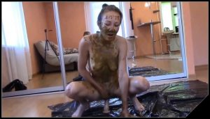 Passion, desire and lust for my shit [Scat Lesbians,  shit, defecation,Toilet Slavery, Domination,Smearing, shit eating ,Big Shit,Dirty Ass, Licking,Dildo masturbation]