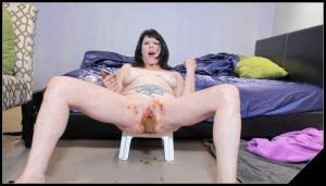 Dirtygardengirl – I Poop From Pussy And Ass [Scat solo, shit, defecation, Pissing, Dirty Ass, Masturbation, Dildo masturbation,Smearing, shit eating]